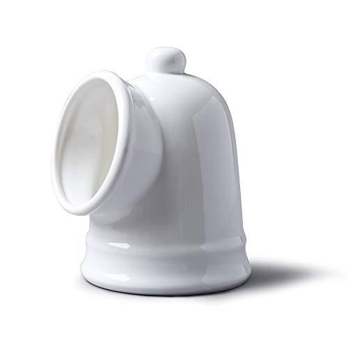 WM Bartleet & Sons 1750 T56 Traditional Porcelain Large Salt Pig – White