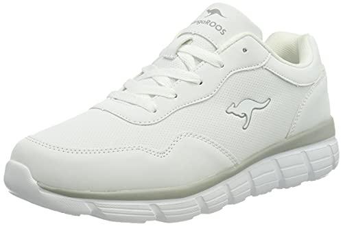 KangaROOS Kr-Cali, Zapatillas Mujer, White Vapor Grey, 36 EU