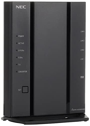NECAtermWG2600HM4無線LANルーターWi-Fi5(11ac)4ストリーム対応(5GHz帯/2.4GHz帯)PA-WG2600HM4