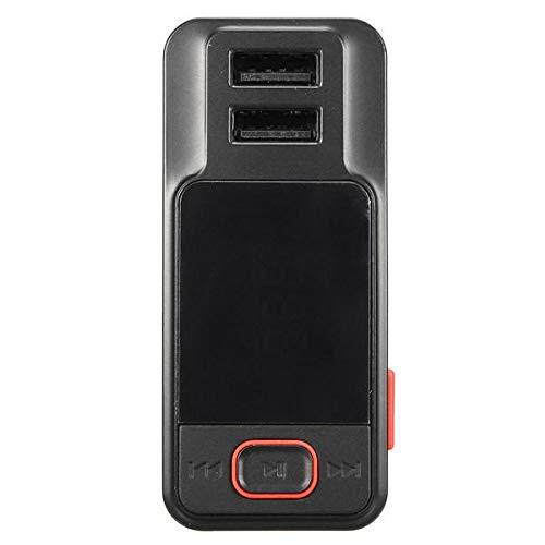 ZWwei Piezas de automóviles Bluetooth inalámbrico LCD Reproductor de MP3 Kit de Coche FM Transimittervs Manos Libres USB/TF/AUX-IN Herramientas y Equipos de automóviles