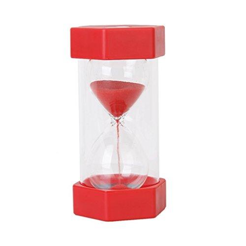 Sicherheits Mode Sanduhr 1 Minute Sanduhr -rot