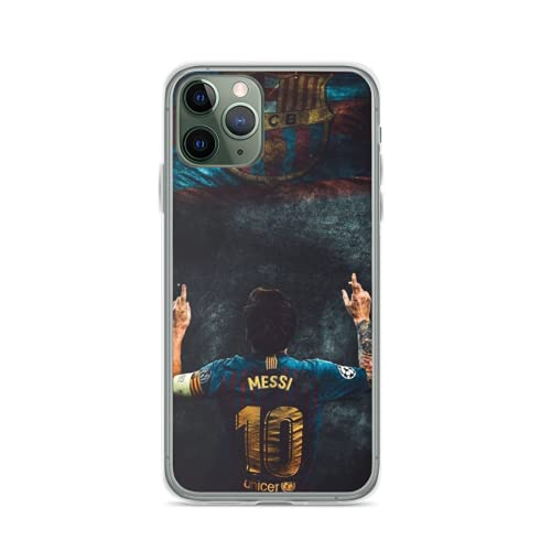 Phone Case Messi Compatible with iPhone 12 11 X Xs Xr 8 7 6 6s Plus Mini Pro Max Samsung Galaxy Note S9 S10 S20 Ultra Plus