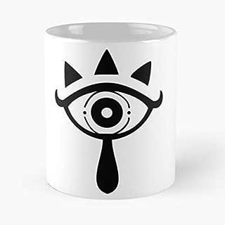 Sheikah Symbol Zelda Legend Link Gift Coffee/tea Ceramic Mug 11 Oz