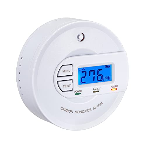 Scondaor Carbon Monoxide Detector EN 50291 Certified, Battery Operated 10...