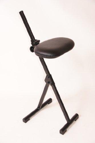 me Stehhilfe ohne Rücken, Kunstleder Sitz, zusammenklappbar