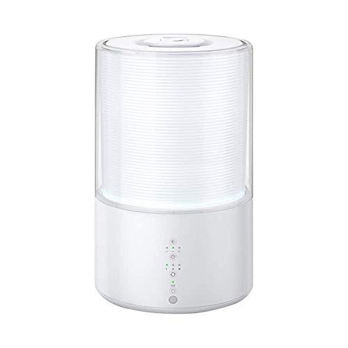 XTZJ Humidificadores 3-en-1 humidificador premium 26db silencioso ultrasónico 3L humidificador de niebla fresco para bebés de dormitorio difusor de aceite esencial con luz nocturna apagado automático