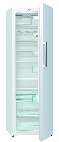 Gorenje R6192FW Kühlschrank / A++ / Höhe 185 cm / Kühlen: 368 L / Dynamic Cooling-Funktion / 7 Glasabstellflächen