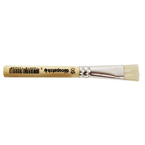 Décopatch PC05O Pinsel (9 cm, ideal für glatte Untergründe, einfach zu verwenden und reinigen) 1 Stück