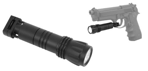 M1SURPLUS NcStar Tactical Trigger Guard Mounted LED Flashlight for Glock Beretta SIG H&K Ruger S&W Pistols