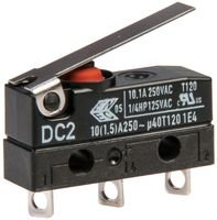 Cherry DC2C-A1LB Micro Switch Hinge Lever Very popular 10.1A SPDT 250V Max 79% OFF