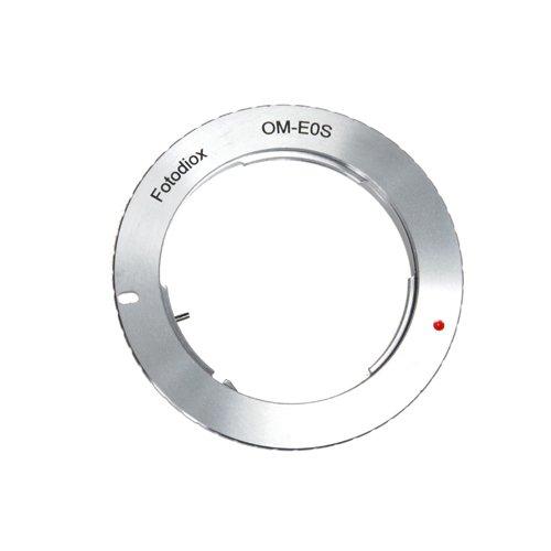 Fotodiox Lens Mount Adapter - Olympus Zuiko (OM) 35mm SLR Lens to Canon EOS (EF, EF-S) Mount SLR Camera Body
