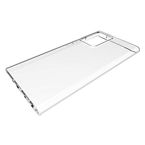 LISUONG MCDC AYYD for Samsung Galaxy Note 20 Funda Protectora Transparente Ultra Brillante