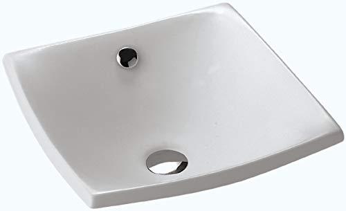 Jacob delafon escale - Lavabo encimera 41x41 escale blanco