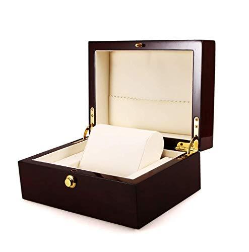 WHSS Watch Box Caja De Exhibición del Reloj De Madera Inicio Hombres Y Mujeres Reloj De Regalo Joyas Pulsera Caja De Almacenamiento Portátil Uno