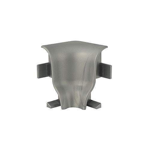 Trevendo® 5er Pack Innenecken 40 mm silber