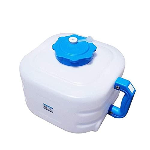KDMB Recipiente de Agua de Cubo portátil 8L Tanque de Almacenamiento de Agua para el hogar Recipiente de Agua para automóvil Tanque de Agua para automóvil y Acampar