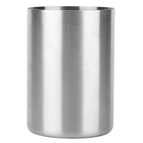 BYARSS Vaso de Cerveza, Vaso de Acero Inoxidable Multifuncional Duradero de 300 ml, Fondo Redondo y Bordes para la Limpieza de los Dientes para Beber Cerveza