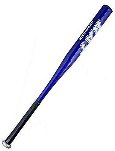 Farsler Bate de béisbol de aleación de aluminio grueso de 63,5 cm para el hogar y la defensa personal (azul)