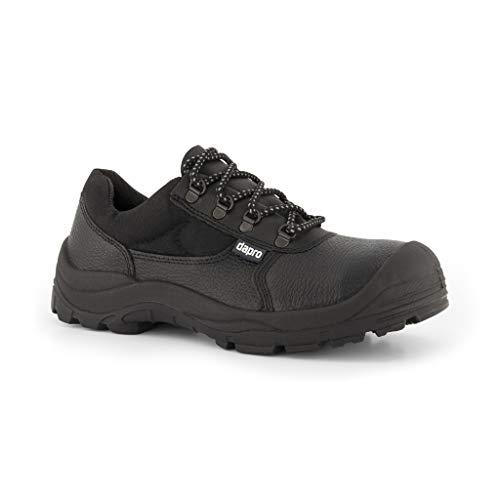 Baron S3 C Chaussures de sécurité - Noir - Ebout de Protection en Acier et Anti-Perforation Semelle intermédiaire en Acier