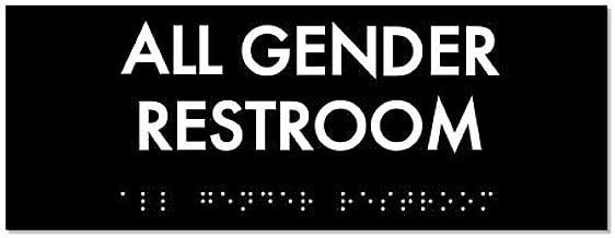 All Gender Restroom Identity Sign 8
