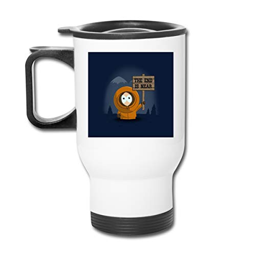 South Park Kenny The End is Near 16 oz Vaso de acero inoxidable de doble pared...