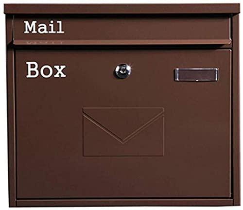 Xkun Bandeja de entrada contenida villa buzón de correo al aire libre...