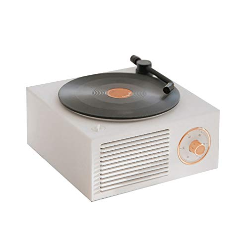 Naliovker Record Player Turntable Multi-Function Audio Portable Retro Gramophone Speaker