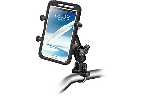 RAM Mounts Handlebar Mount with X-Grip Universal Bracket for Large Smartphones