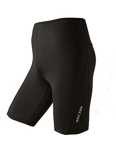 Crivit Pantalones de deporte para hombre Negro L