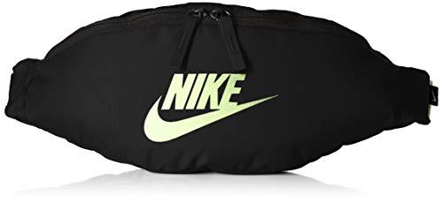 Nike Unisex– Erwachsene Heritage Hip Pack Gürteltasche, Black/Black/Barely Volt, One Size