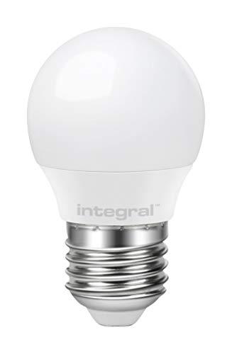 Integral ILP45E27O3.5N27KBCMA Ampoule LED Mini Globe 3.5W (25W) 2700K 250lm E27 Non-Dimmable Opal 180, 3 W