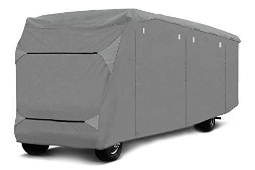 Schutzhülle für Wohnmobil Abdeckplane für Camper, wasserdichter Wetterschutz, Ganzgarage (730 x 235 x 275 cm)
