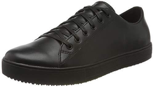 Shoes For Crews 36111 - Scarpe Antiscivolo Old School Low Rider Iv da Uomo, Nero, 44