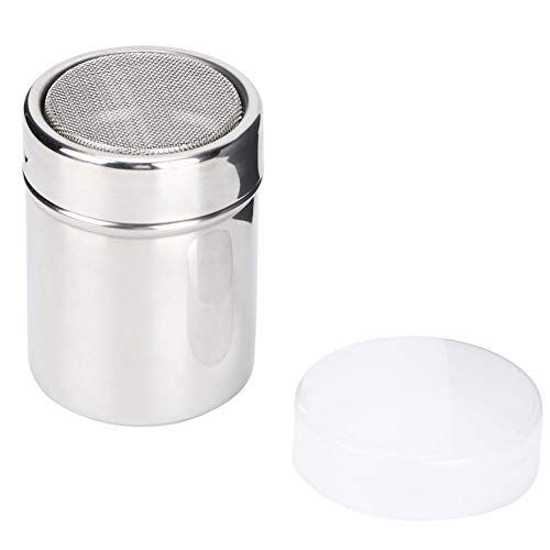 Dosatore Caffe Dosatori ed Erogatori per Condimenti Agitatore per Caffè Spargizucchero a Velo Spargi Zucchero a Velo Porta Cacao in Acciaio Inox di Sale e Pepe per Cucina Domestica BBQ