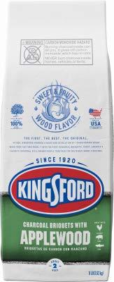 Kingsford 32077 BBQ Briquette, Apple Wood, 8-Lb. - Quantity 1