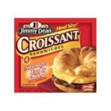 Jimmy Dean Sausage, Egg & Cheese Croissant Sandwiches (2 packs) , 9 oz., (8 count)