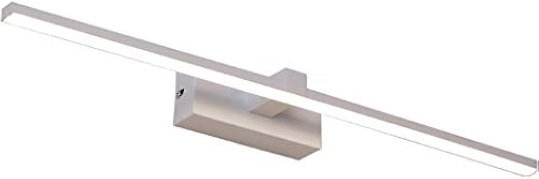 ZMFL Spiegelleuchten Bad Wandleuchte LED Spiegel Scheinwerfer wasserdichte Anti-Fog-Spiegel Lampe Lnge  40 60 80 100   120cm. (Farbe   Warmes Licht, gre   40cm-8W)