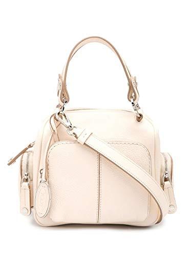 Tod's Luxury Fashion Damen XBWTBAH0100UCAC016 Weiss Leder Handtaschen | Frühling Sommer 20