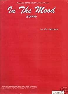 Sheet Music In The Mood Joe Garland 98