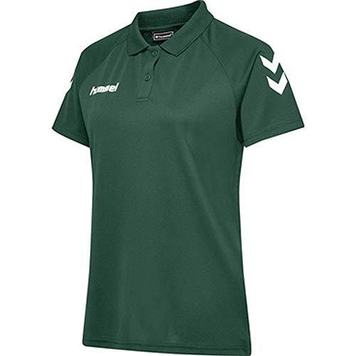 hummel Polo Fonctionnel Core pour Femme. S Vert Sapin