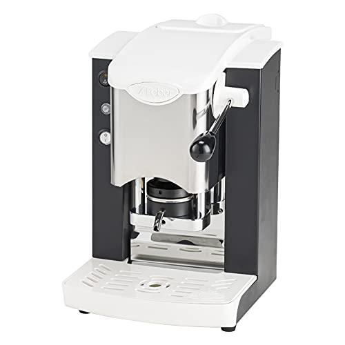 Faber - Slot - Máquina de café de monodosis de papel Ese 44 mm, inoxidable, color negro