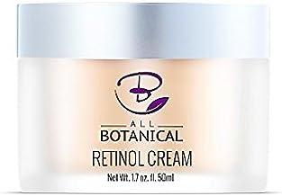 Crema hidratante de retinol para el rostro - 50ml con 2,5% de retinol, ácido hialurónico y aceite de jojoba La mejor crema hidratante tanto de día como de noche.