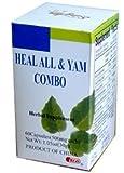 Heal All & Yam Combo (Thyroid Health) 60 Capsules X 3