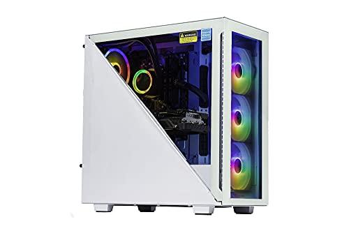 Velztorm Gladio Custom Built Powerful Gaming Desktop PC (AMD Ryzen 9 5900X 12-Core, 64GB RAM, 2TB PCIe SSD + 3TB HDD (3.5), GeForce RTX 3070, WiFi, Bluetooth, 2xUSB 3.0, 1xHDMI, Win 10 Home)