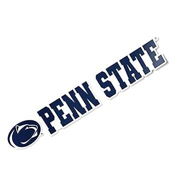 The Pennsylvania State University Penn State PSU Nittany Lions University Name Logo Vinyl Decal Laptop Water Bottle Car Scrapbook  8 Inch Sticker