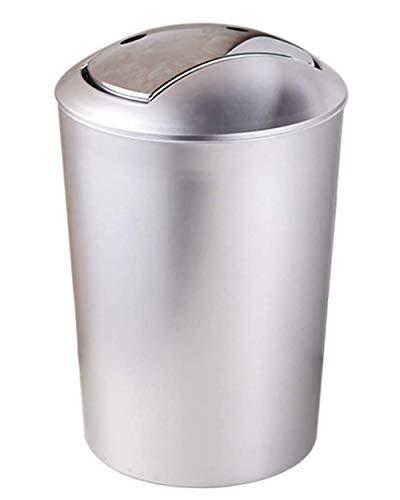 WXX Creative-Flip Trash Can Haushalt 10L Round Trash Can Abnehmbare Küche und Toilette Deodorant Trash Can leicht zu reinigen