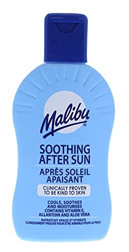 Malibu Beruhigende feuchtigkeitsspendende Vitamin angereicherte After-Sun-Lotion, 200 ml, Original