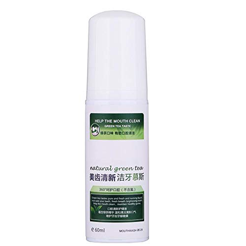 Tartar Removal Solution-60ml Teeth Cleansing Foaming Cleanser Tartar Removal Solution Fresh Breath Oral Care