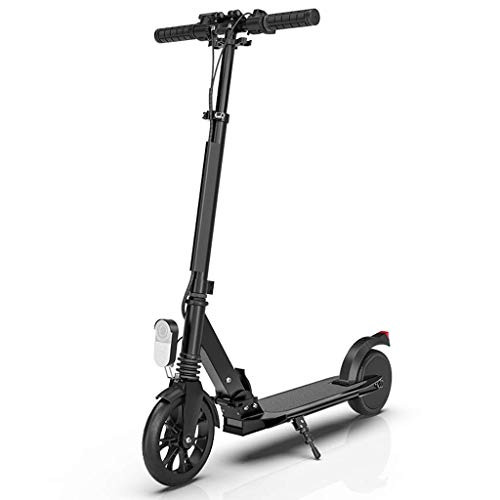 SHENRQIA Scooter Electrico-Patinete Electrico Adulto Y Niño, Ajustable La Altura, 25km/h Freno...