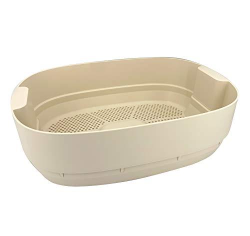 Wurmbett/Extra Tablett zum Wurmkomposter Urbalive Elfenbein I Erhöhen Sie die Größe Ihres Wurmkomposter